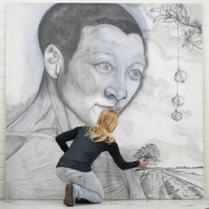 Diane Meyboom kunstschilderes - Groot werk