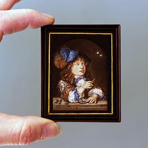 Link naar alle miniatuurschilderijen van Diane Meyboom
