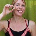 Miniaturiste Diane Meyboom, kunstschilderes