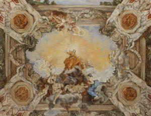 Plafondschilderingen van Diane Meyboom Pietro da Cortona