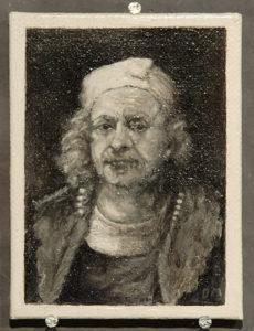 Bijzondere miniaturen: Expositie Slot Zeist van Diane Meyboom - De Portretjes van Rembrandt -1