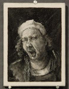 Bijzondere miniaturen: Expositie Slot Zeist van Diane Meyboom - De Portretjes van Rembrandt -2