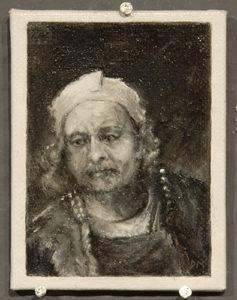 Bijzondere miniaturen: Expositie Slot Zeist van Diane Meyboom - De Portretjes van Rembrandt -3
