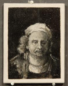 Bijzondere miniaturen: Expositie Slot Zeist van Diane Meyboom - De Portretjes van Rembrandt -6
