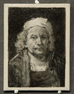 Bijzondere miniaturen: Expositie Slot Zeist van Diane Meyboom - De Portretjes van Rembrandt -8