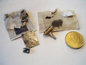 Miniatuur etsset door Diane Meyboom. 1:12