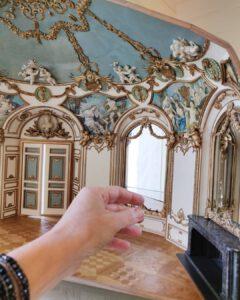Bijzondere miniaturen: 1:12 Rococo Salon Hotel de Soubise